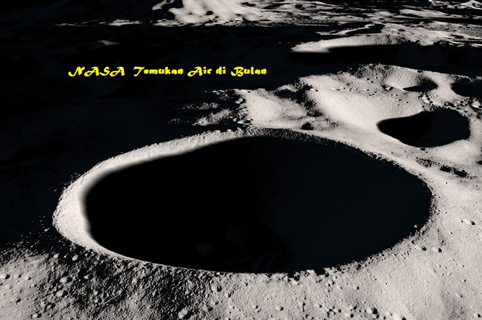nasa temukan air di bulan